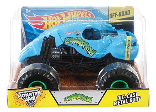 Hot Wheels Monster Jam 1:24 Scale Crushstation Vehicle