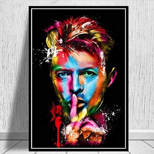 Retro David Bowie Banda de música Rock decoración Rockera