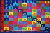Fun Rugs Fun Time Collection 8'x11' Multiplication Area Rug