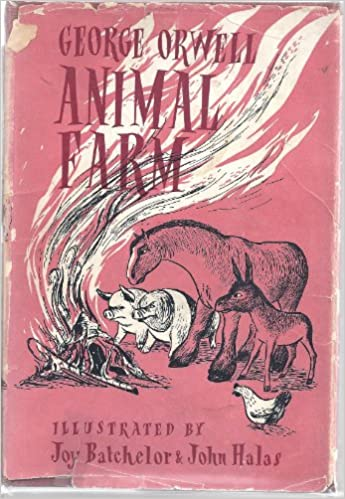 Animal Farm First Illustrated Edition Amazon Co Uk Orwell George Joy Bachelor And John Halas Books