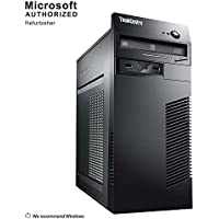 2018 Lenovo Think Center M72E TW Desktop Computer,Intel Core I3-3220 3.3G,12GB DDR3, 120GB SSD+500GB,DVD,WiFi,BT 4.0,1G VC,W10H64 (Certified Refurbished)-Multi-Language Support English/Spanish