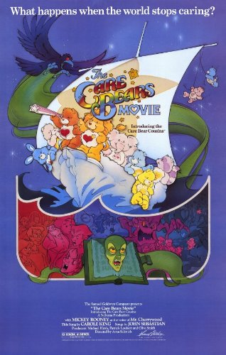 Care Bears Movie Poster Movie 11x17