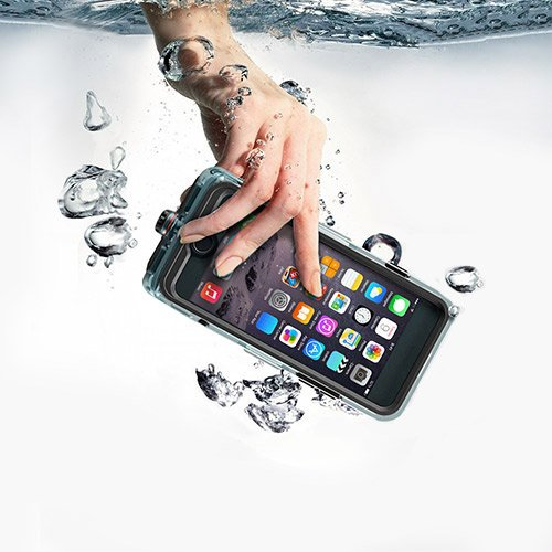 3 opinioni per Custodia Impermeabile iPhone 7,Voce Chiara Talking IP68 Certificato,Con