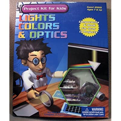 Lights, Colors & Optics Project Kit for Kids: Toys & Games