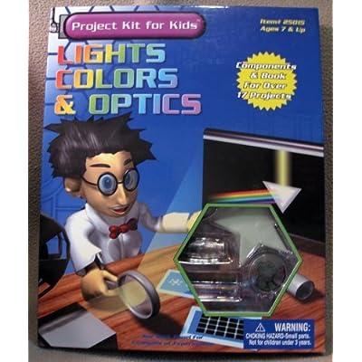 Lights, Colors & Optics Project Kit for Kids: Toys & Games [5Bkhe0414557]