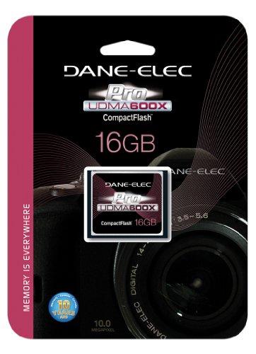 DANE ELECTRONICS Pro High Speed CF 16GB Memory Card (DA-CF6016G-C) by DANE ELECTRONICS