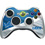 Skinit NFL Detroit Lions Xbox 360 Wireless Controller Skin - Detroit Lions Design - Ultra Thin, Lightweight Vinyl Decal Protection