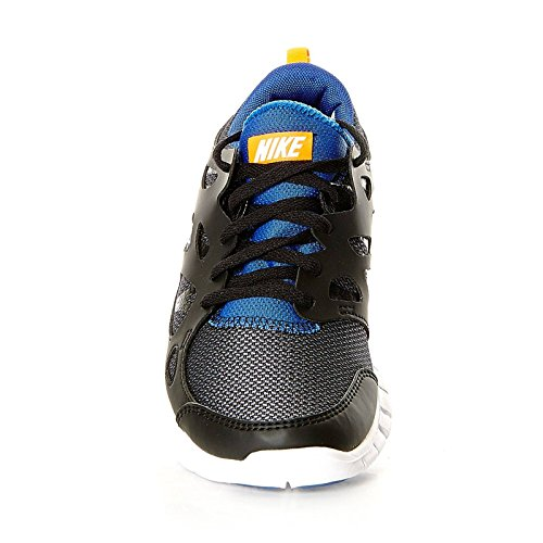 Nike Children's Gs game Free 2 total Shoes Running Unisex royal orange 033 Run black white XwXUgr