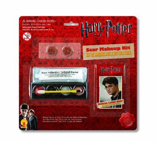 Harry Potter Scar & Makeup Kit Harry Potter scar & makeup kit ♪ Halloween ♪ size: One (Harry Potter Scar Makeup)