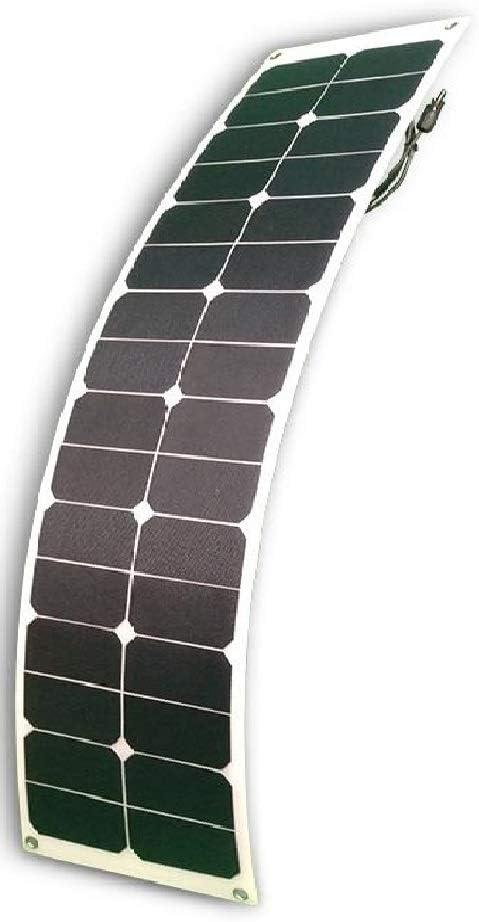 Boss Watt 50W Flexible Solar Panel – Rear Junction Box