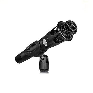Karaoke300 Micrófono De Condensador De Mano Anclaje Teléfono Móvil ...