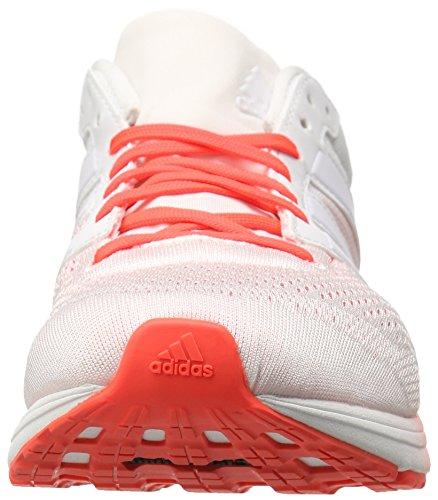 adidas Performance Herren Adizero Boston 6 M Laufschuh Weiß / Weiß / Infrarot