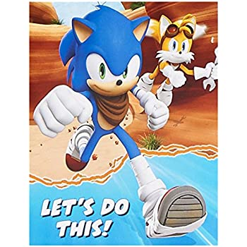 Amazoncom Sonic the Hedgehog Party Supplies Invitations 8