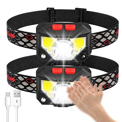 Soft Digits Headlamp Flashlight