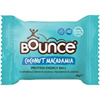 Bounce Coconut Macadamia Protein Energy Ball, 12 x 40 Grams