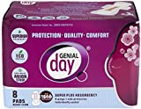 GENIAL DAY Super Absorbent Heavy Flow Pads 8 Piece, 0.02 Pound For Sale