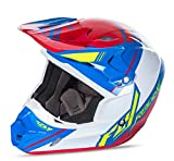 Fly Racing Unisex-Adult Full-face Style Kinetic Pro Shortsy Replacement Helmet (Red/White/Blue, X-Large)