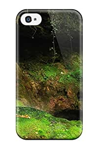 Hot Waterfall First Grade Tpu Phone Case For Iphone 4/4s Case Cover