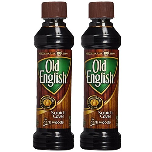Old English Scratch Cover For Dark Woods, 8 fl oz Bottle, Wood Polish (Pack of 2) - Oak View Cherry