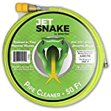 JetSnake Sewer Jetter – 50 FT Drain Cleaner for Your Gas Pressure Washer Review