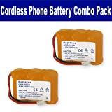 ATandT-Lucent 2422 Cordless Phone Battery Combo-Pack includes: 2 x EM-CPB-403D Batteries, Office Central