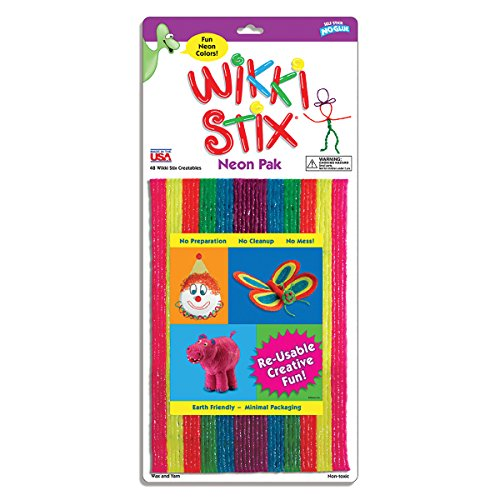 Wikki Stix WIK804 Art and Craft , Assorted Package - Castle Collection Wall