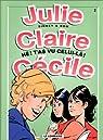 Julie, Claire, Cécile, tome 2 : Hé! T'as vu celui-là! par Sidney