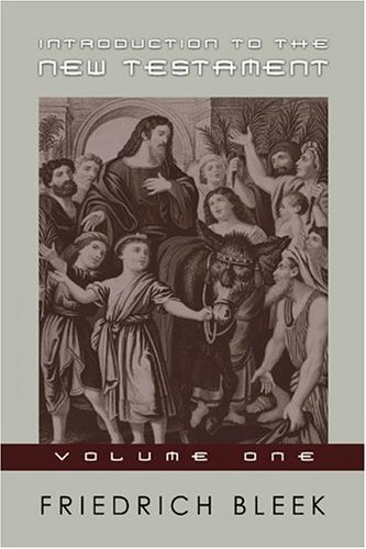 Introduction to the New Testament pdf
