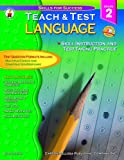 Language Arts Teach and Test 2, Sally Fisk, 0887247695