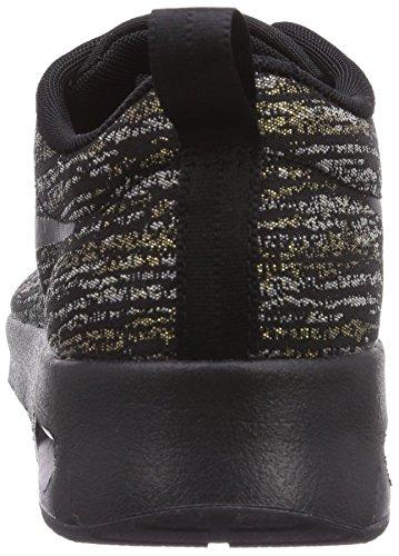 Nike Womens Air Max Thea Stampa Scarpa Da Corsa Nero / Oro Metallizzato / Vela