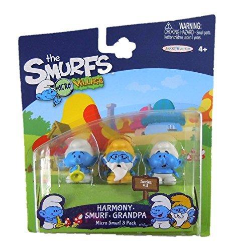 dpa & Standard Smurf Micro Figure (3 Pack) ()