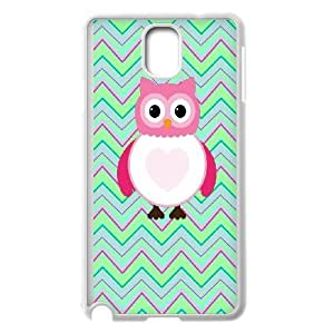 Cute owl,owl you need is love Pattern Hard Shell Cell Phone Case for For Samsung Galaxy Case Note 4 color20 by mcsharks