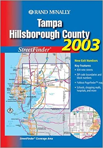 Rand mcnally 2003 tampa hillsborough county streetfinder rand rand mcnally 2003 tampa hillsborough county streetfinder rand mcnally and company 9780528996931 amazon books sciox Image collections