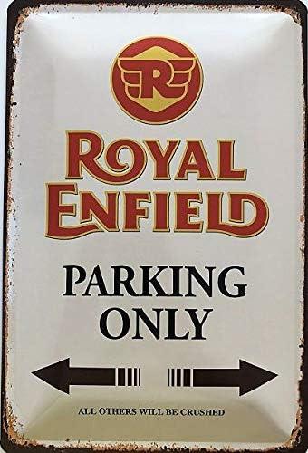 Deko 7 Tin Sign 30 x 20 cm Bentley Parking Only Car//Motorcycle