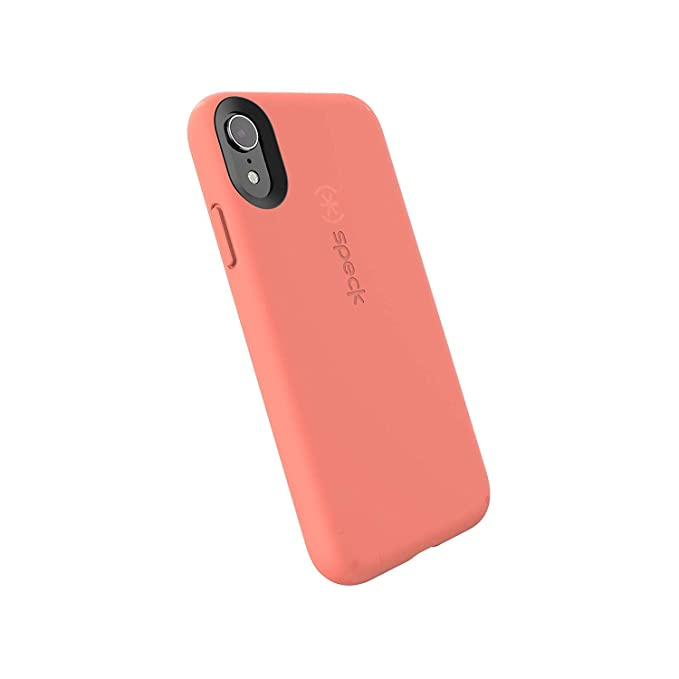on sale ac1fb dc910 Speck Products CandyShell Fit iPhone XR Case, Apricot Peach/Apricot Peach