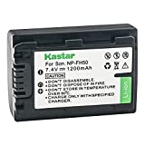 Kastar Battery for Sony NP-FH30 NP-FH40 NP-FH50 NP-FH70 NP-FH100 and Sony Cyber-shot DSC-HX1 DSC-HX100 HX100V DSC-HX200 HX200V, Sony Alpha DSLR-A230 DSLR-A290 DSLR-A330 DSLR-A380 DSLR-A390