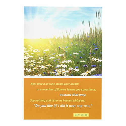 Birthday Inspirational Boxed Cards - Max Lucado - Field of Flowers