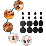 Essential Oil Massage Stones Set, 16Pcs Natural