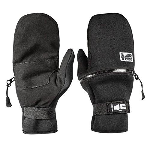 Hand Out Gloves Lightweight Mitten - X Small - Black