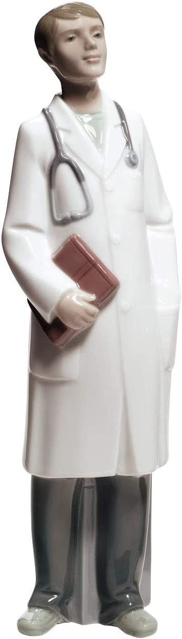 NAO Doctor – Male. Porcelain Doctor Figure.
