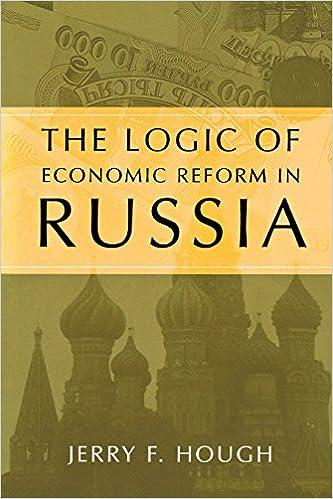 Failure of Economic Reform in Russia