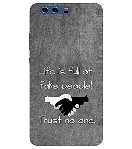 For Huawei P10 Life Is Full Of Fake People Printed Amazonin