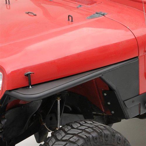 Smittybilt Textured Black XRC Tube Fenders for Jeep CJ7