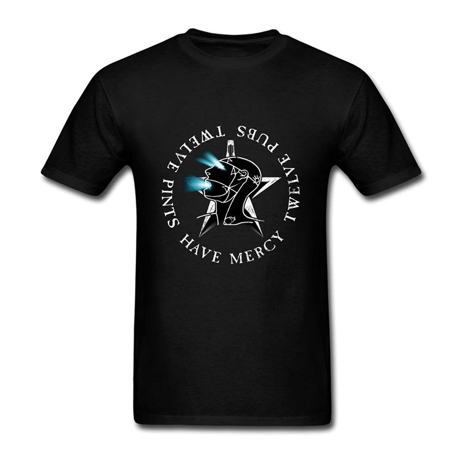 FQYPMC Man 100% Cotton The Sisters of Mercy Logo Tshirts