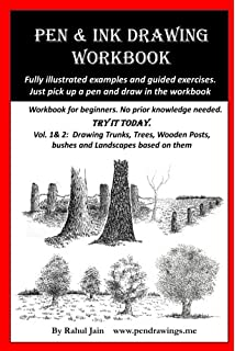 Amazon com: Pen and Ink Drawing Workbook (Volume 2