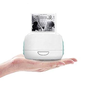 KJRJBQ Mini Impresora portátil de Etiquetas Carpeta de Archivos y ...