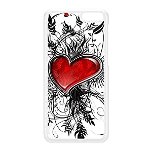 True Heart White Hard Plastic Case for Amazon Fire Phone by Fernando Garza + FREE Crystal Clear Screen Protector