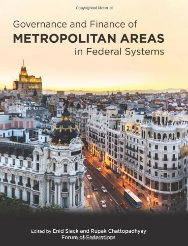 Governance and Finance of Metropolitan Areas in Federal Systems