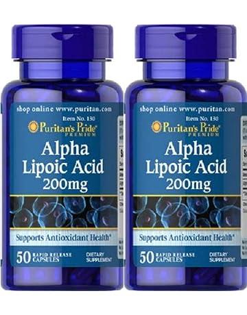 adc11ef4f9fa 2 Acide alpha-lipoïque 200 mgr 50 capsules (antiossidante, cholestérol)