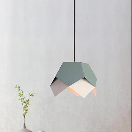Lámpara colgante moderna de la forma de Origami de la manera ...